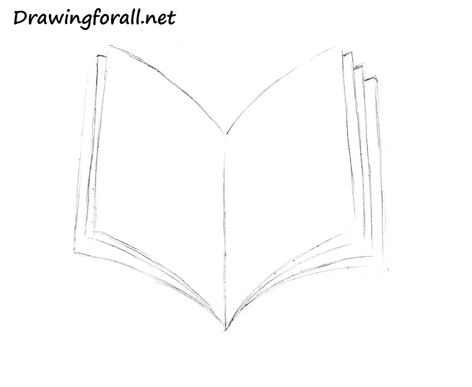 How to Draw a Book   DrawingForAll.net