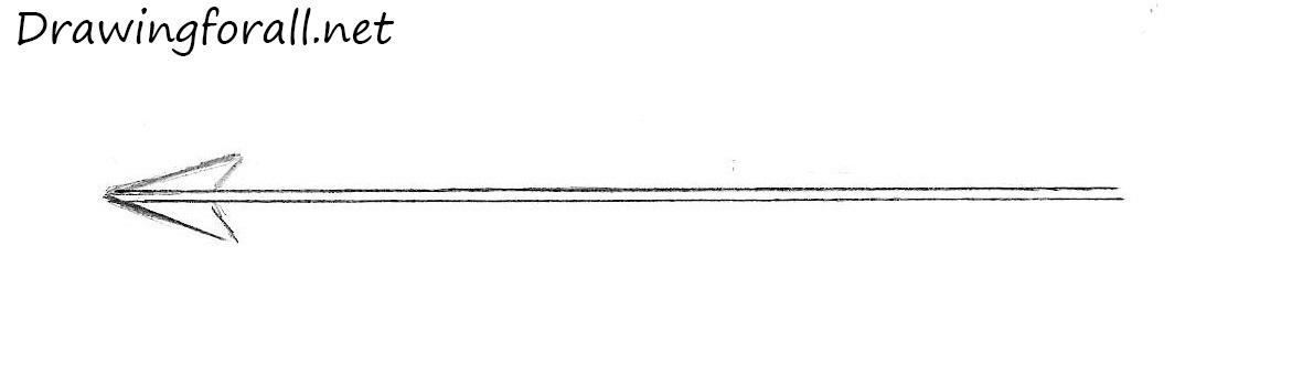 Line Art Arrow : How to draw an arrow drawingforall