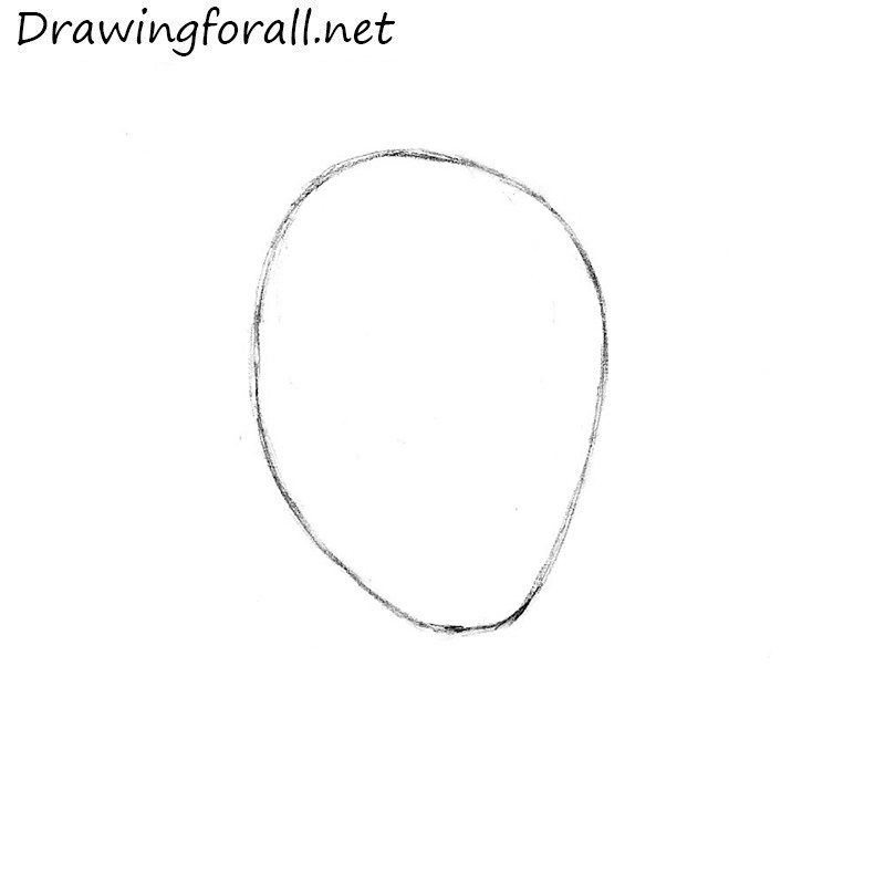 how to draw Spider-Man's mask