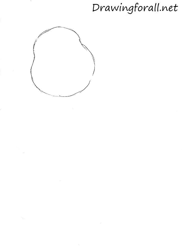 how to draw winnie the pooh standing up
