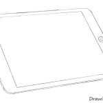 how to draw an ipad step by step