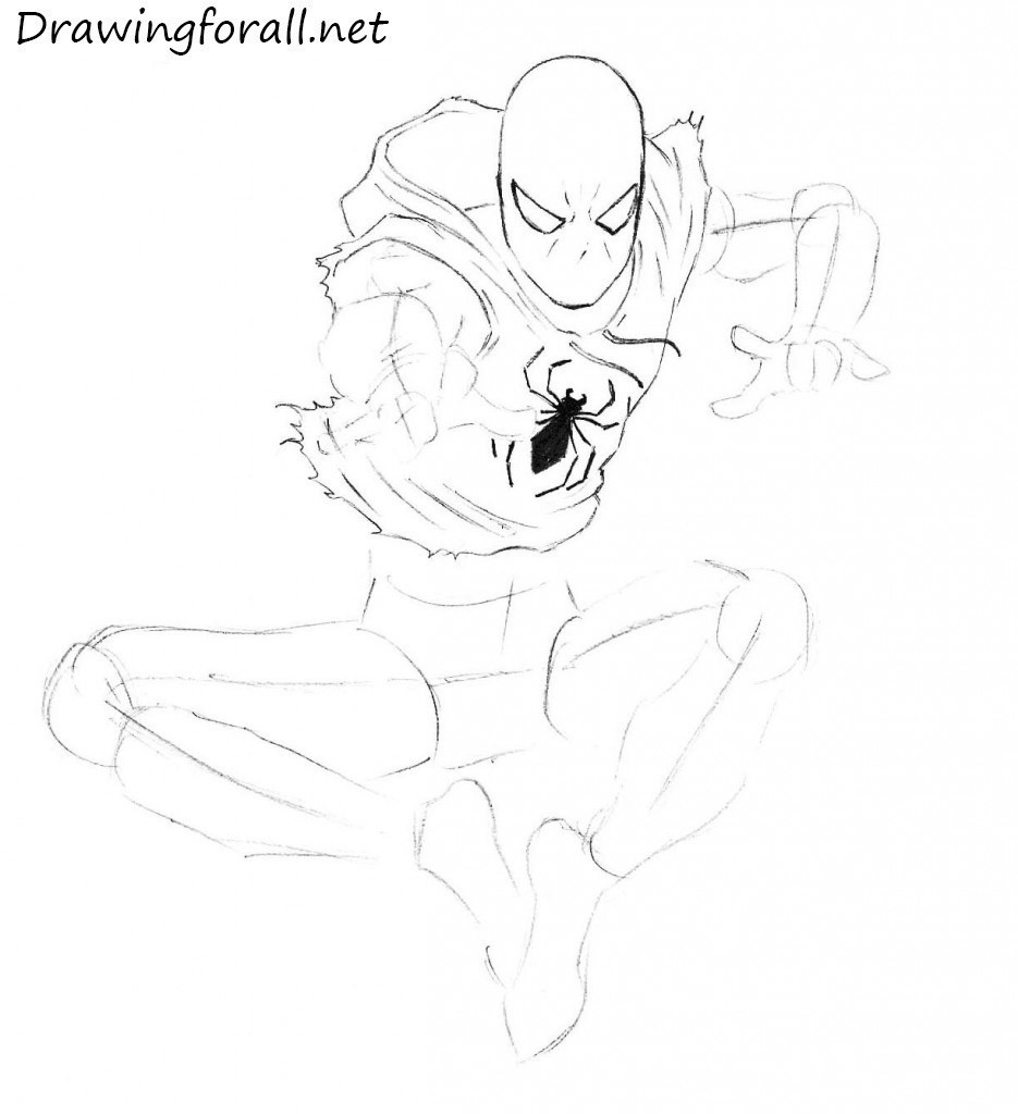How to Draw Ben Reilly step by step