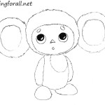 How to Draw Cheburashka