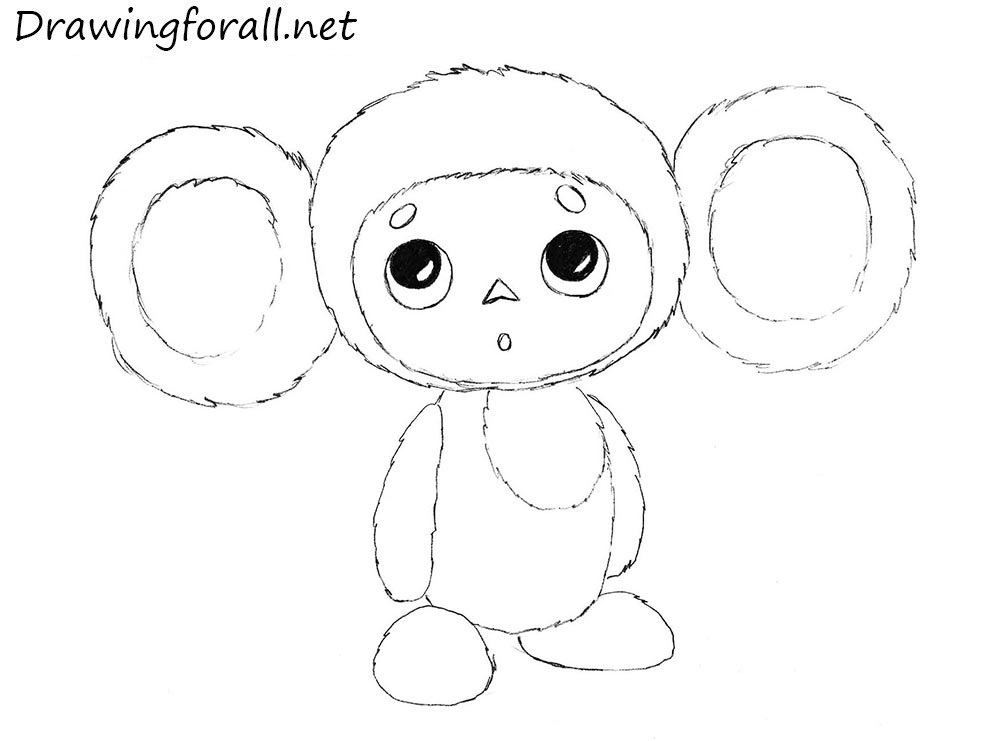 cheburashka drawing