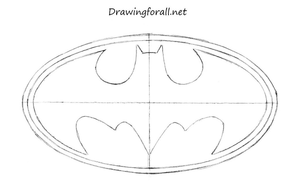 drawing batman sign