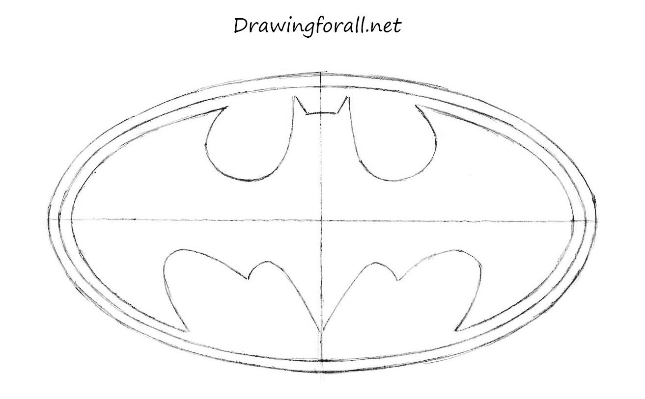 Drawing Smooth Lines In Autocad : How to draw batman s logo drawingforall