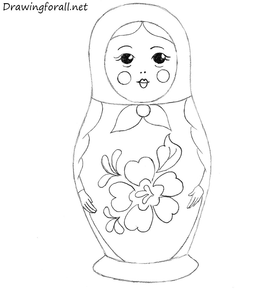 drawing Matryoshka