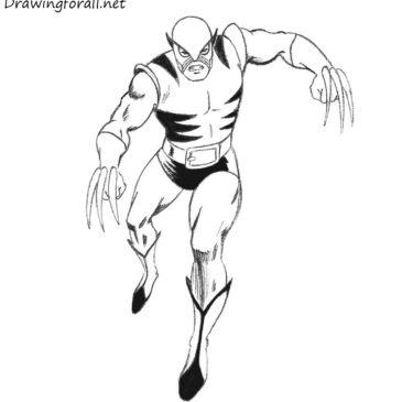 How to Draw Original Wolverine
