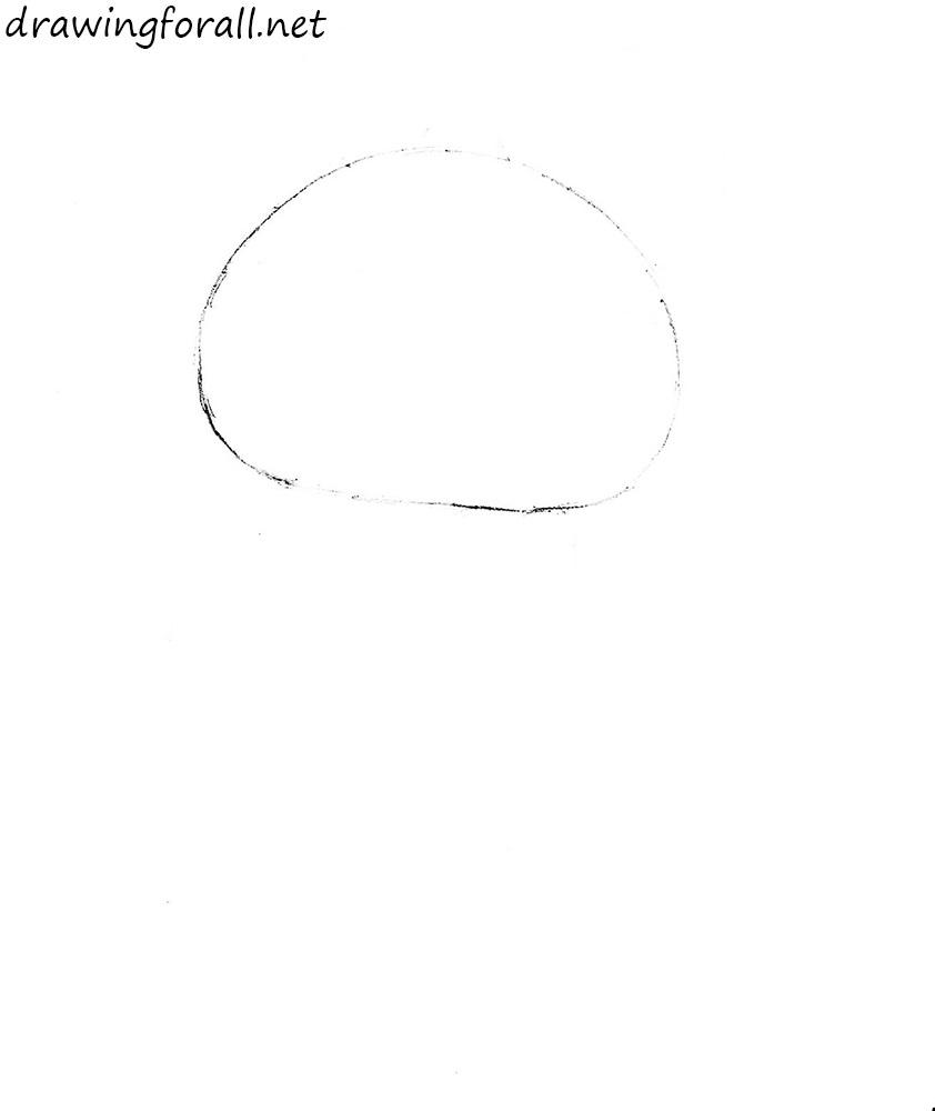 how to draw te Olympic Mishka