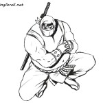 How to Draw a Sumo Ninja