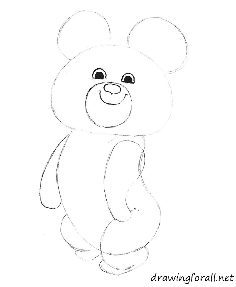 10 how to draw russian bear