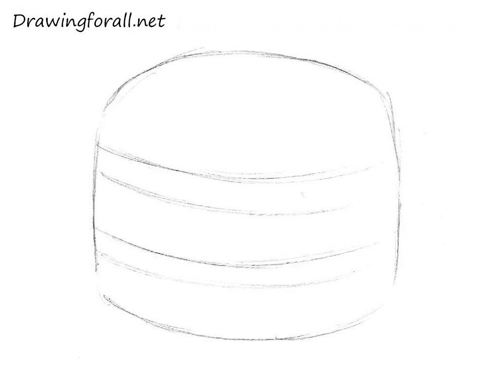 2  How to draw a hamburger step by step
