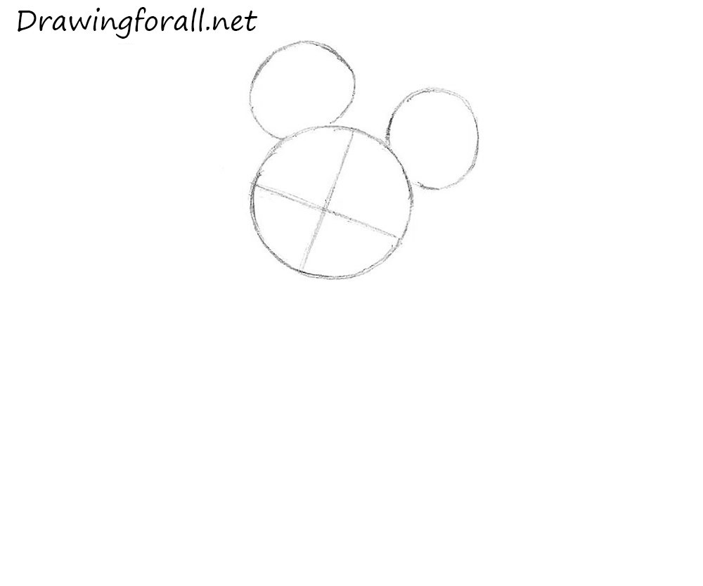How to Draw Mickey Mouse | Drawingforall.net