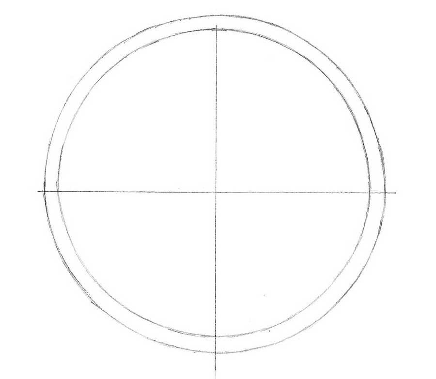 how to draw clocks step by step