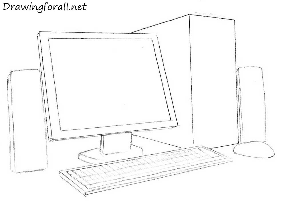 drawing a computer