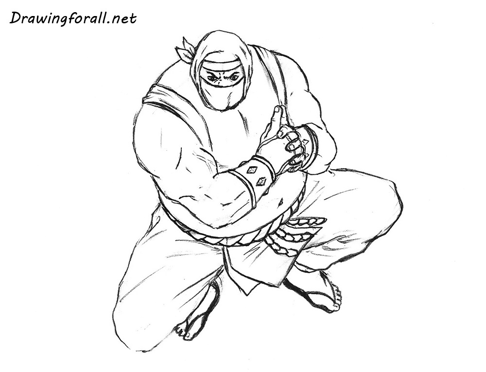 how to draw sumo