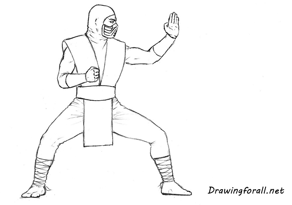 how to draw mk
