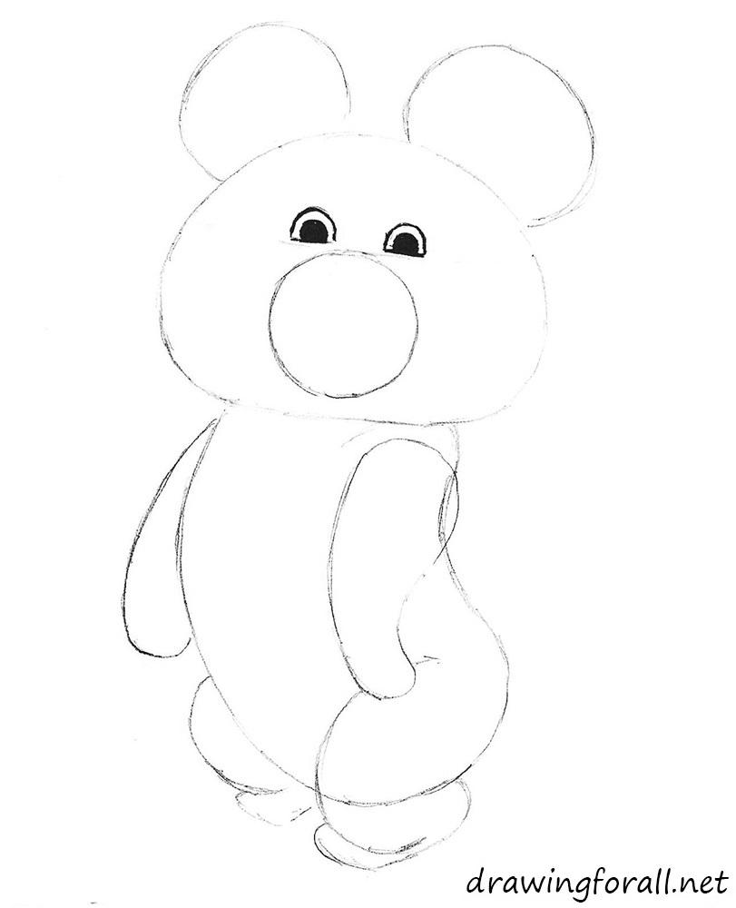 drawing bear
