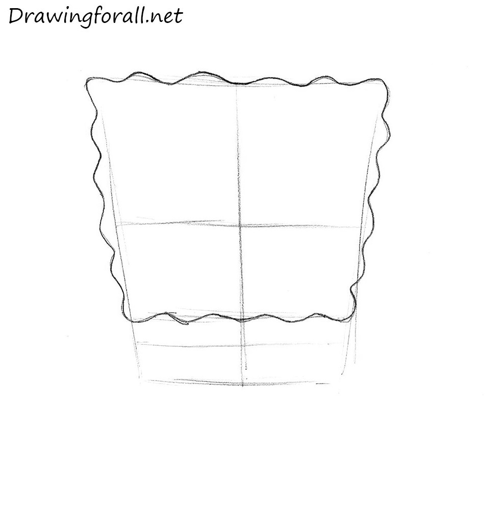 how to draw SpongeBob SquarePants with a pencil
