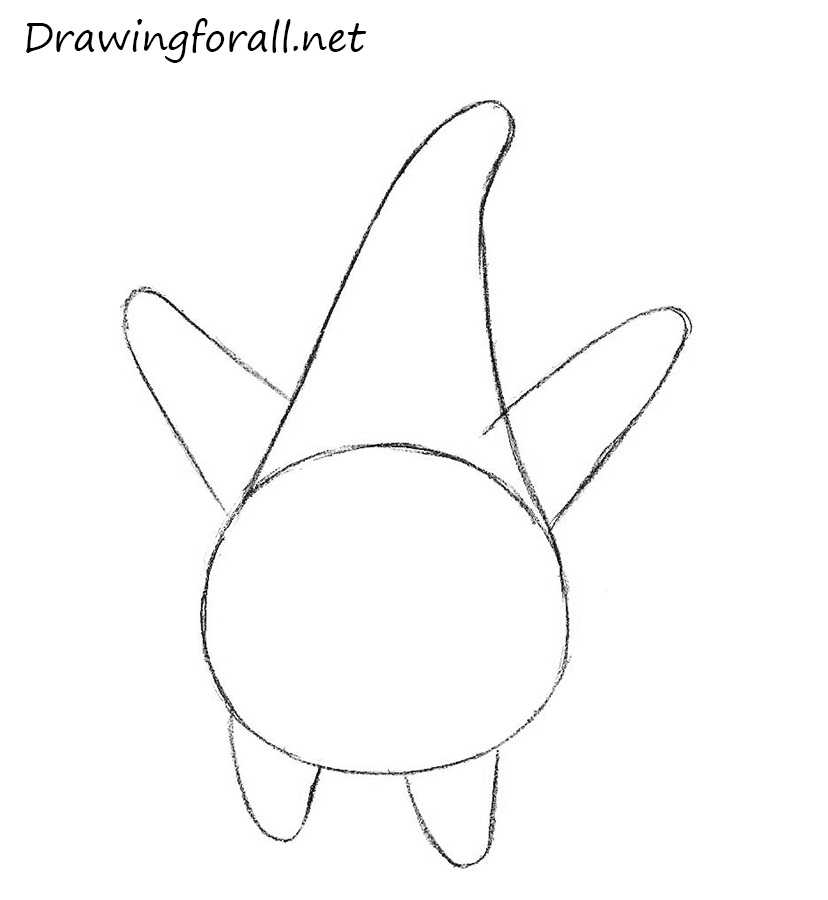 How to Draw Patrick Star with a pencil