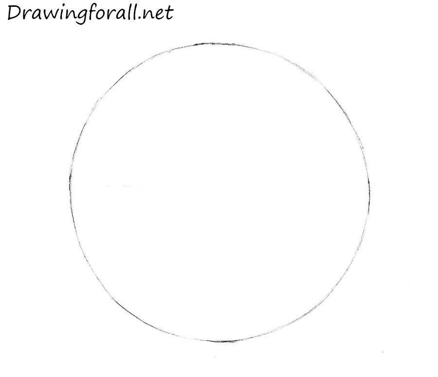 how to draw a ball with a pencil