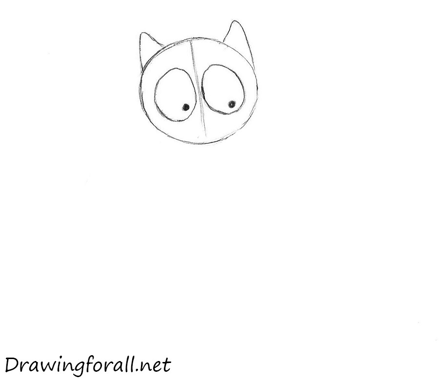 how to draw a cat step by step
