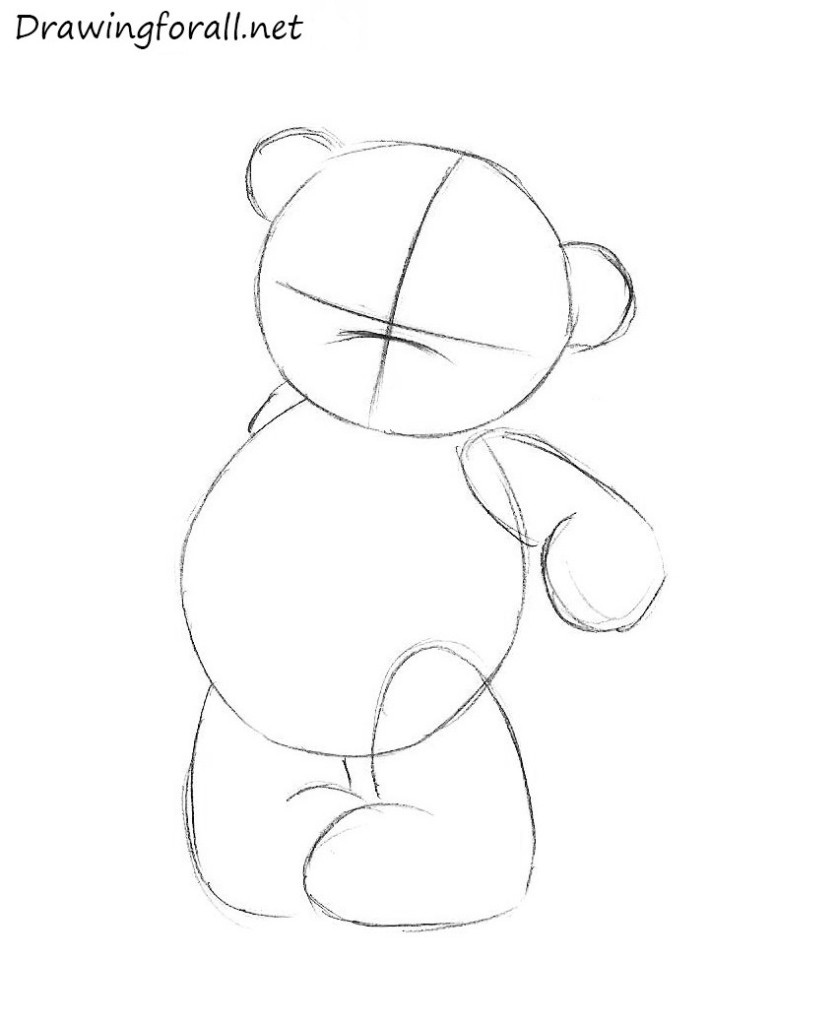 How to draw a teddy bear drawingforall net
