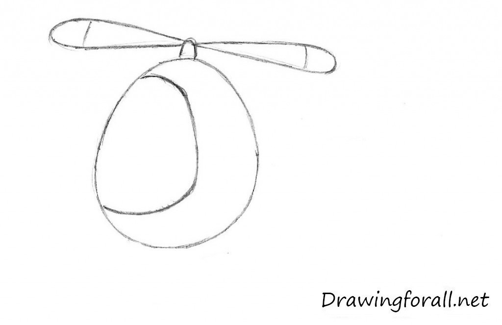how to draw a helicopter for beginners
