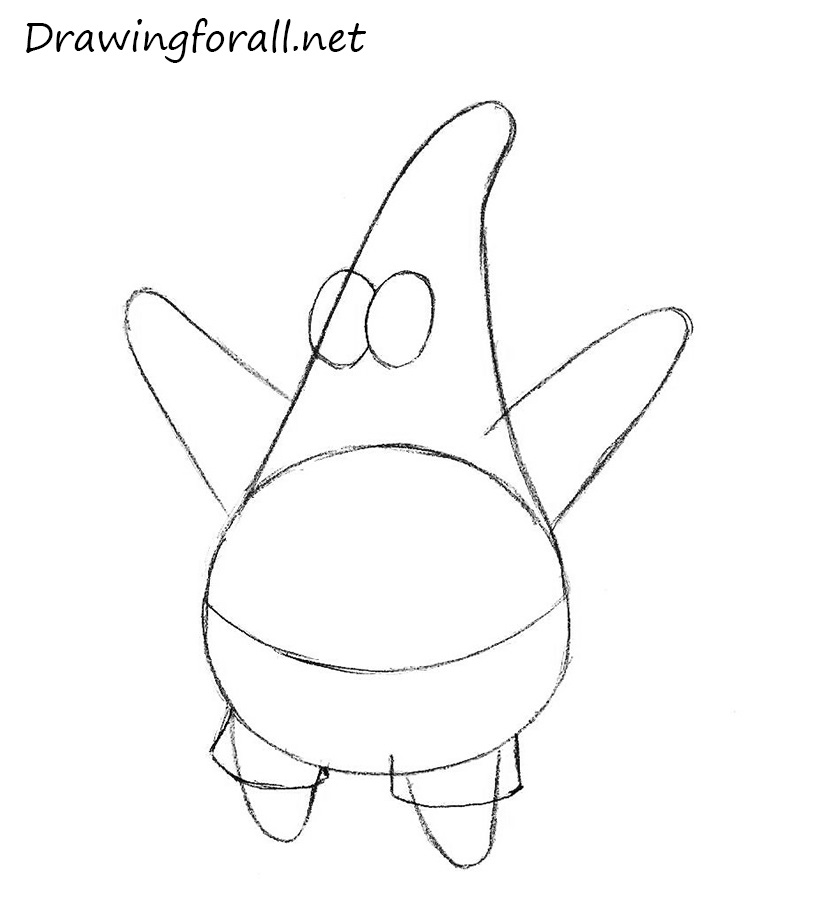 How to Draw Patrick Star from spongebob squarepants