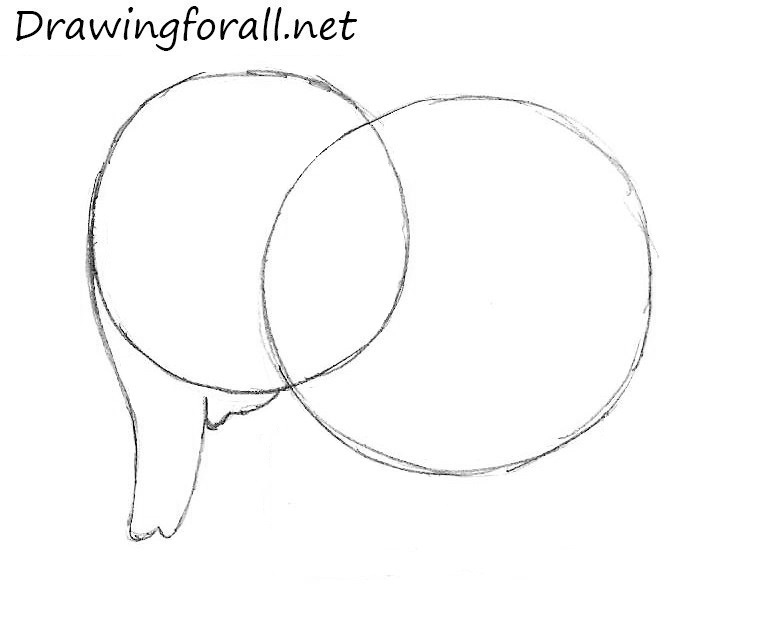 How to draw an enephant easy