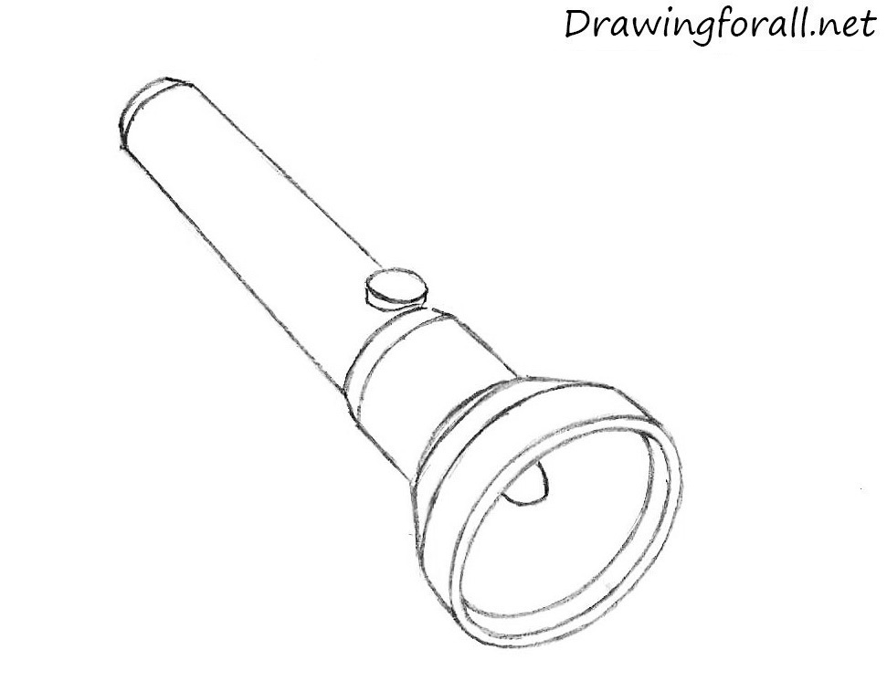 draw a flashlight