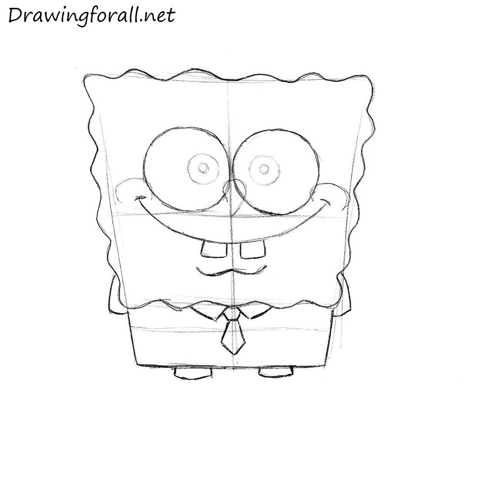 How To Draw SpongeBob SquarePants