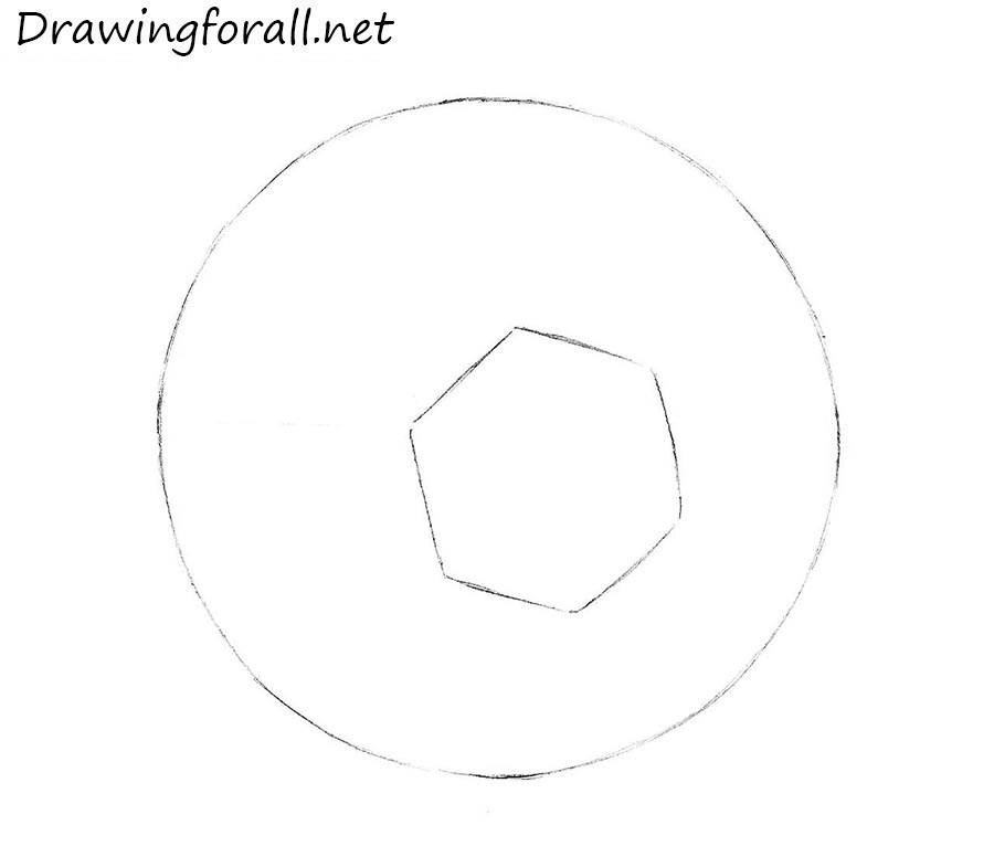 how to draw a ball step by step