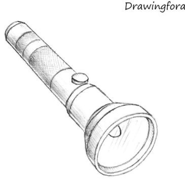 How to Draw a Flashlight