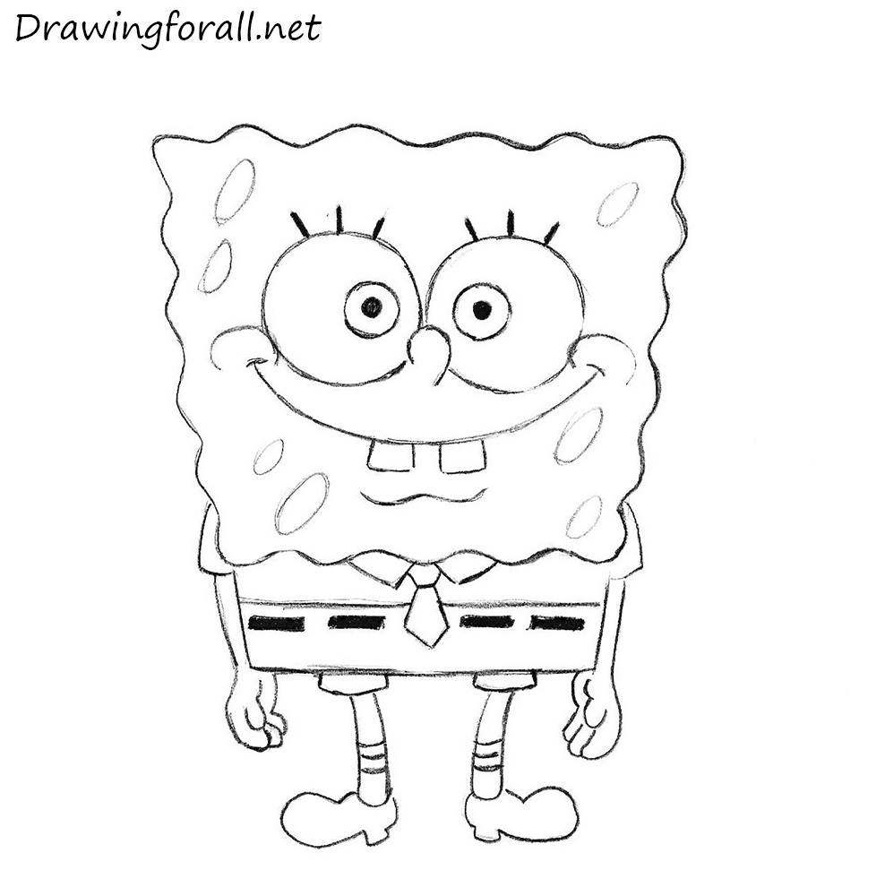 SpongeBob SquarePants drawing