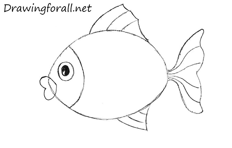 How To Draw A Easy Fish