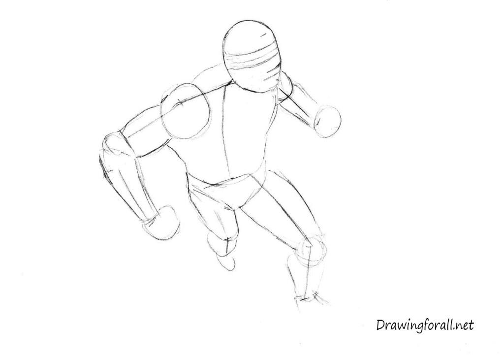 how 2 draw cyclops x-man