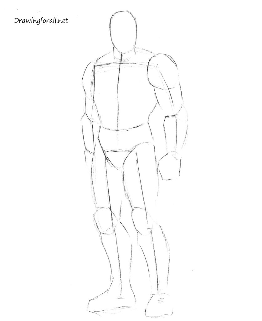 how 2 draw iron man