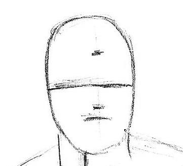 how to draw Toni Stark Iron man
