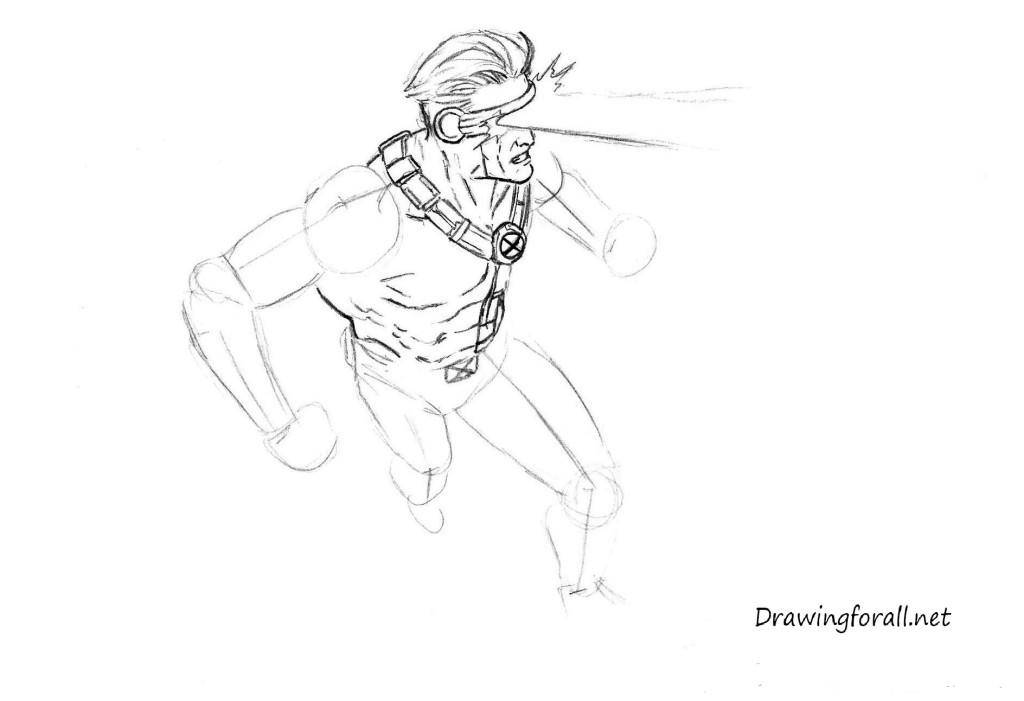 how to draw cyclops
