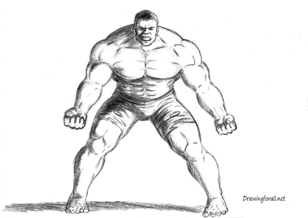 How To Draw The Incredible Hulk | DrawingForAll.net