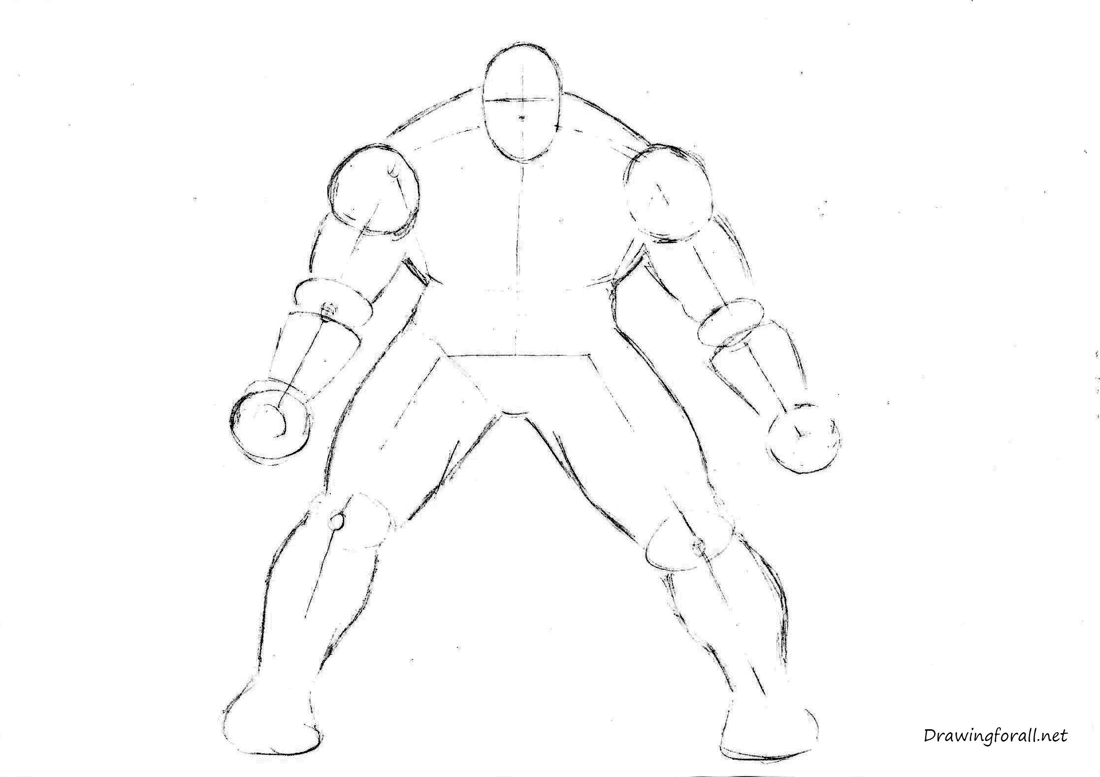 Hulk Face Line Drawing : How to draw the incredible hulk drawingforall
