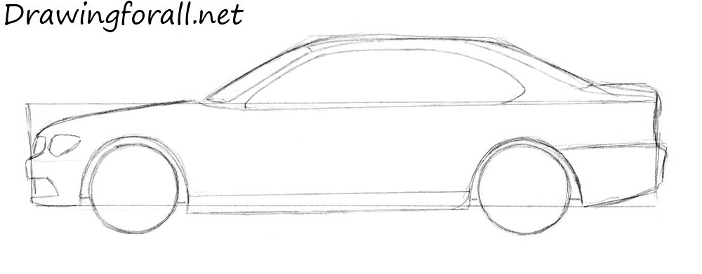 How to Draw a Car | DrawingForAll.net
