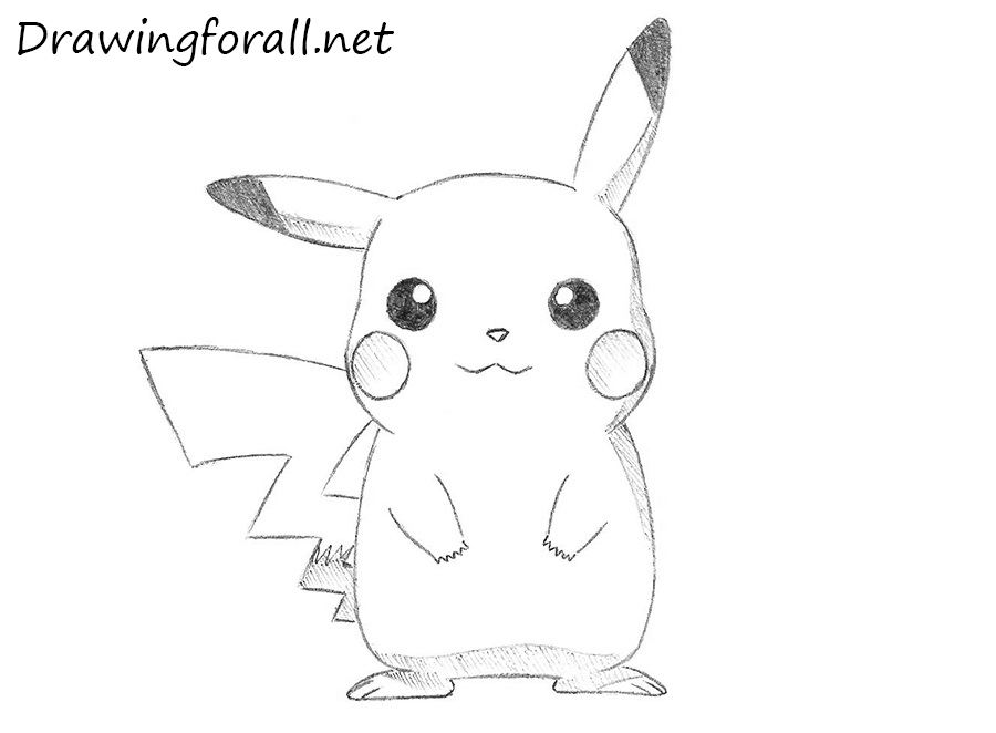How To Draw Pikachu From Pokemon Drawingforall Net