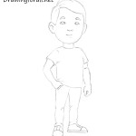 How to Draw a Man for Kids