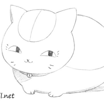 How to Draw Maneki Neko from Anime