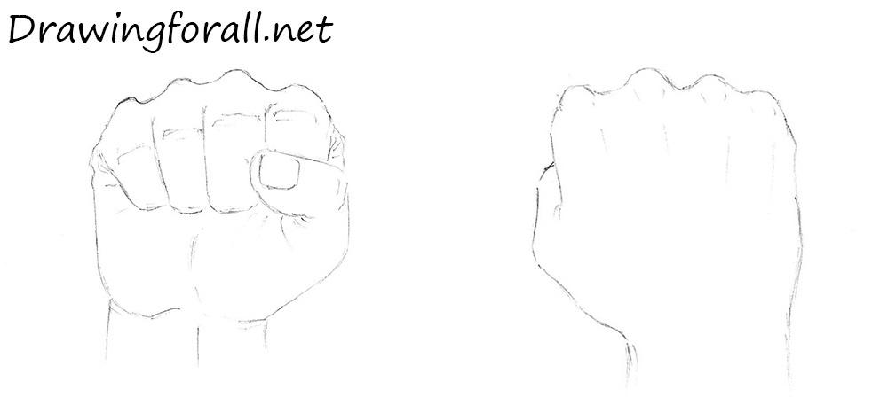 fist drawing
