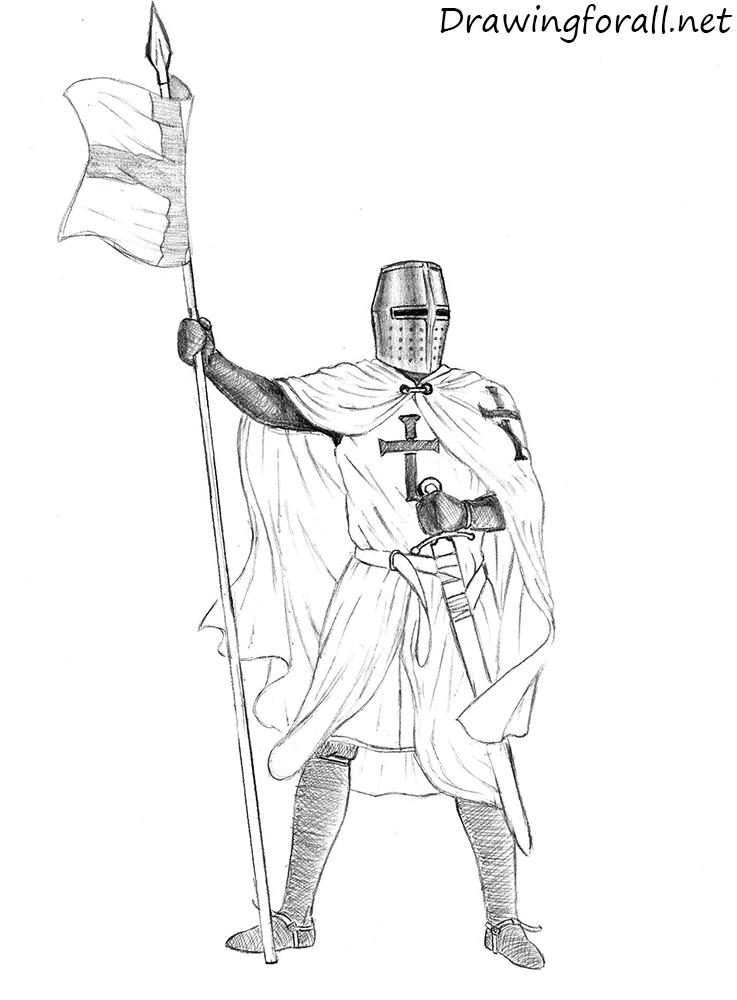 knight drawng