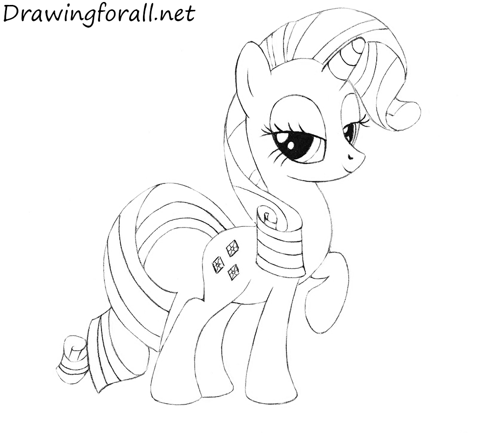 How to Draw Rarity
