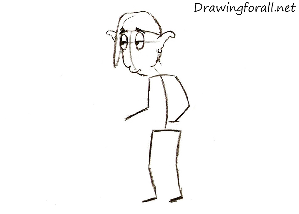 how to draw a fairy tale character step by step